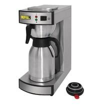 Buffalo Koffiezetapparaat 1,9L | 2,1 kW/h | Handmatig vullen | 195x360x455(h)mm