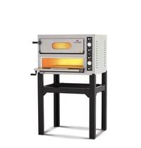 Italforni Pizza oven elektrisch INOX  | 4+4 Ø 30 cm | 9 kW/h | 890x735x595(h)mm