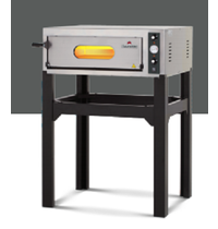 Italforni Pizza oven elektrisch INOX | 1x6 Ø 30 cm | 6,5 kW/h | 890x1065x325(h)mm