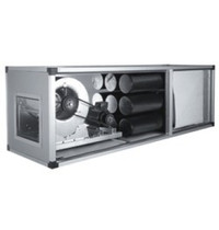 Diamond Filterende extractiegroep   2600m3/U   2 snelheden   1,1 kW/h   670x2000x670(h)mm