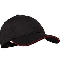 ChefWorks Chef Works Cool Vent baseball cap zwart en rood | Polyester/katoen