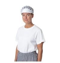 Whites Chefs Clothing Whites nylon muts met klep en haarnet