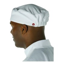 ChefWorks Chef Works Total Vent beanie unisex wit   Polyester/katoen
