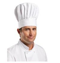 Whites Chefs Clothing Whites koksmuts wit   65% polyester - 35% katoen