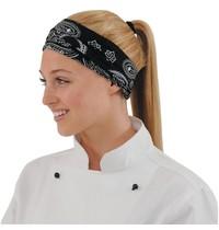 Buff Buff hoofddoek kasjmier zwart | 95% polyester - 5% katoen | 530x225mm
