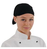 Buff Buff hoofddoek zwart | Polyester microvezel