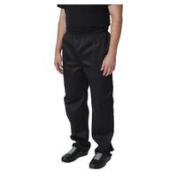 Whites Chefs Clothing Whites Vegas unisex koksbroek zwart | Polyester/katoen