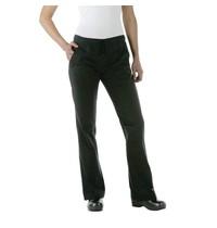 ChefWorks Chef Works Executive dames pantalon zwart | Polyester/katoen