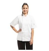 Whites Chefs Clothing Whites Vegas koksbuis korte mouw wit   Polyester/katoen