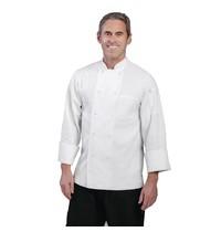 ChefWorks Chef Works Le Mans koksbuis wit   Polyester/katoen