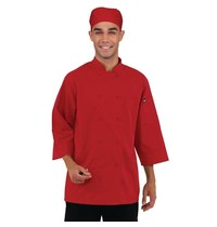 ChefWorks Chef Works unisex koksbuis rood   65% Polyster - 35% katoen