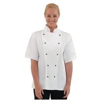 Whites Chefs Clothing Whites Chicago unisex koksbuis korte mouw wit | 80% Polyester - 20% Katoen
