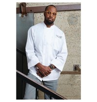 ChefWorks Chef Works Calgary Cool Vent unisex koksbuis wit   65% Polyster - 35% Katoen