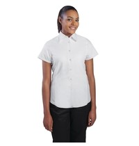 ChefWorks Chef Works Cool Vent dames chefshirt wit | 65% Polyester - 35% Katoen | Maat L