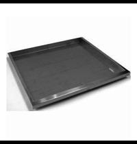 Gastro-Inox 650 HP RVS ovenplaat   367x444x30(h)mm