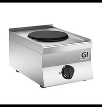Gastro-Inox 650 HP kooktoestel met 1 kookplaat 40 cm | 3,5 kW/h | 400x650x295(h)mm