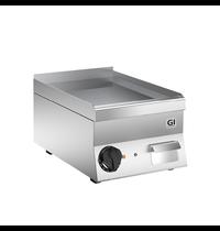 Gastro-Inox 650 HP elektrische bakplaat met gladde verchroomde plaat 40cm | 3,6kW/h | 400x600x295(h)mm