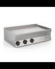 Gastro-Inox 650 HP elektrische bakplaat met gladde RVS plaat 100cm | 11,7kW/h | 1000x600x295(h)mm