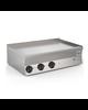 Gastro-Inox 650 HP  elektrische bakplaat met gladde RVS plaat 100cm   11,7kW/h   1000x600x295(h)mm