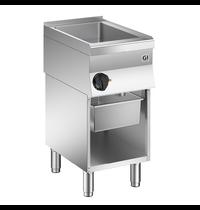 Gastro-Inox 650 HP braad/kookapparaat 40cm | 4,05kW/h | Met aftapkraan | 400x600x870(h)mm
