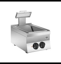 Gastro-Inox 650 HP elektrische frites warmhoud apparaat 40cm | 2 kW/h | 400x600x295(h)mm