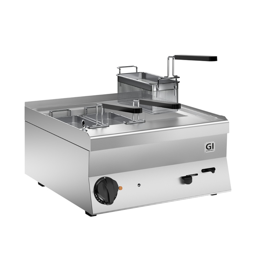 650 HP elektrische pastakoker 40cm | 9kW/h | Met aftapkraan | 400x600x295(h)mm