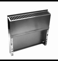 Gastro-Inox 650 HP opvulstuk voor elektrische/neutrale unit | 600(b)x50(d)mm