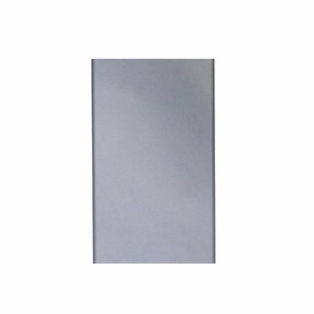 650 HP achter paneel voor elektrische bakplaat | 600(b)x1000(h)mm