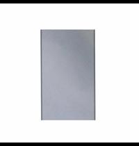 Gastro-Inox 650 HP achter paneel voor elektrische bakplaat | 600(b)x1000(h)mm