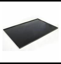 Gastro-Inox 700 HP bakplaat voor gasfornuis 170.010 | 930(b)x620(d)mm