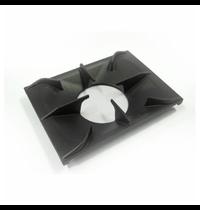 Gastro-Inox 700 HP gietijzeren panrooster voor 1 brander | 350x350x16(h)mm