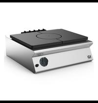 Gastro-Inox 700 HP gloeiplaat voor gastoestel 80cm | 9kW/h | 800x730x250(h)mm