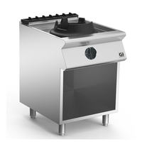 Gastro-Inox 700 HP wok brander met 1 brander 60cm | 10kW/h | 800x720x870(h)mm