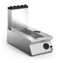 Gastro-Inox 700 HP gas friteuse 40cm | 8 liter | 7kW/h | 400x730x250(h)mm