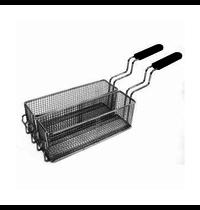 Gastro-Inox 700 HP frituurmanden set voor elektrische friteuses 10 liter | 180x305x110(h)mm