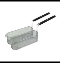 Gastro-Inox 700 HP frituurmanden set voor gas friteuse 10-15 liter / elektrische friteuse 15 liter | 180x305x110(h)mm