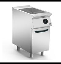 Gastro-Inox 700 HP braad/kookapparaat 40cm | 4 kW/h | 400x730x870(h)mm
