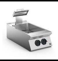 Gastro-Inox 700 HP frites warmhoud apparaat 40cm | 2kW/h | 400x730x250(h)mm