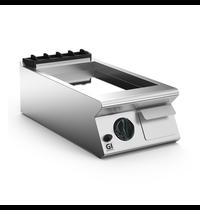 Gastro-Inox 700 HP gas bakplaat met geribbelde RVS plaat 40 cm | 6 kW/h | 400x730x250(h)mm