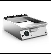 Gastro-Inox 700 HP gas bakplaat met gladde verchroomde plaat 60cm | 9kW/h | 600x730x250(h)mm