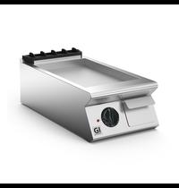 Gastro-Inox 700 HP elektrische bakplaat met RVS plaat 40cm | 5,4kW/h | 400x730x250(h)mm