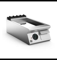 Gastro-Inox 700 HP elektrische bakplaat met verchroomde plaat 40cm | 5,4 kW/h | 400x730x250(h)mm