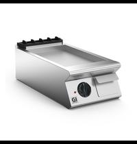 Gastro-Inox 700 HP elektrische bakplaat met gladde RVS plaat 40cm   5,4kW/h   400x730x250(h)mm