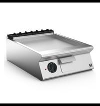 Gastro-Inox 700 HP elektrische bakplaat met gladde geslepen stalen plaat 60cm   7,5kW/h   600x730x250(h)mm