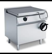 Gastro-Inox 700 HP kantelbare elektrische braadpan 80cm met dubbelwandige stalen bodem 60 liter | 800x730x870(h)mm