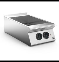 Gastro-Inox 700 HP bain marie elektrisch 40cm   GN 1/1   1,8kW/h   Met aftapkraan   400x730x250(h)mm