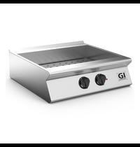Gastro-Inox 700 HP bain marie elektrisch 80 cm   GN 2/1   5,4kW/h   Met aftapkraan   800x730x250(h)mm