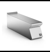 Gastro-Inox 700 HP werkunit zonder lade 20cm | 200x730x250(h)mm