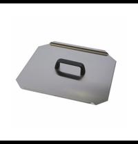 Gastro-Inox 700 HP deksel voor 27 liter pastakokers
