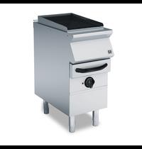Gastro-Inox 700 HP waterbad gas grill met 2 gietijzeren roosters 40cm | 7,5kW/h | 400x730x870(h)mm